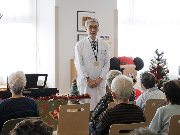 4階回復期病棟・クリスマス会1