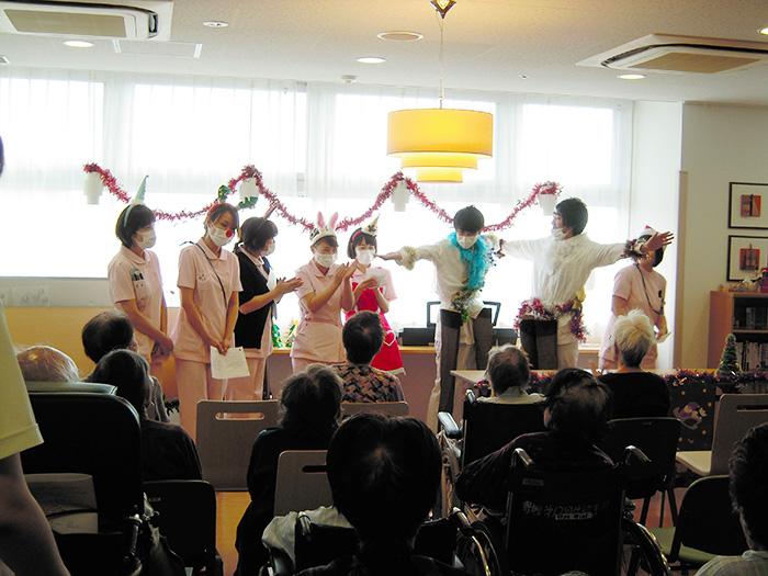 4階回復期病棟・クリスマス会3