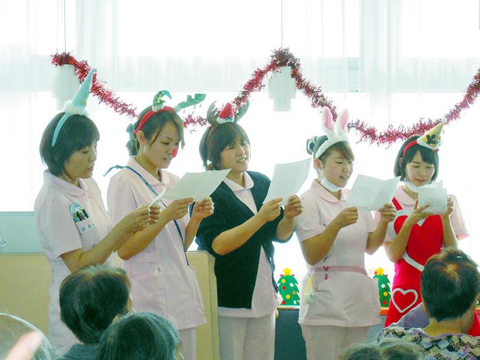 4階回復期病棟・クリスマス会4