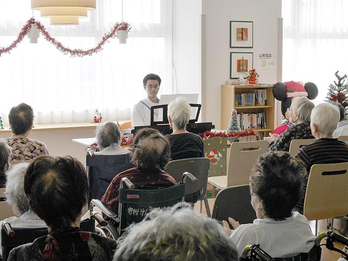 4階回復期病棟・クリスマス会2