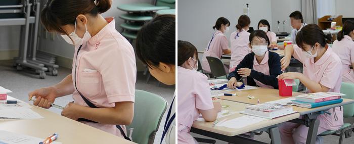 新人看護師とインターンシップによるインスリン研修